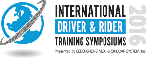 2016 International Driver & Rider Training Symposium