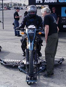 SKIDBIKE is debuted in Las Vegas, by SKIDCAR SYSTEMS, INC.
