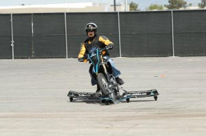 SKIDBIKE Testimonial from the Debut of the SKIDBIKE in Las Vegas