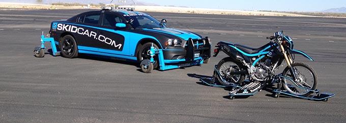 SKIDCAR & SKIDBIKE RIDER AND DRIVER TRAINING
